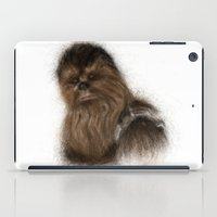 chewbacca iPad Cases featuring Chewbacca by KitschyPopShop