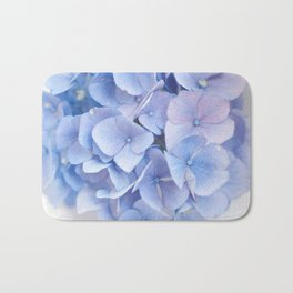 Blue Hydrangeas #3 #decor #art #society6 Bath Mat
