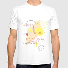 Webster White Mens Fitted Tee SMALL