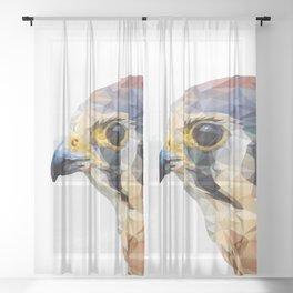 Falcon head Sheer Curtain