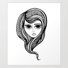 Tendrils #7 Art Print