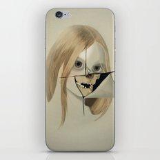 girlie skull iPhone & iPod Skin