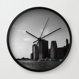 Manhattan Coast Wall Clock