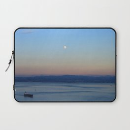 The Bay and the Moon Laptop Sleeve