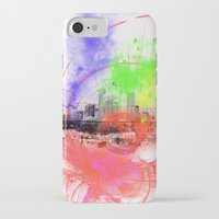 skyline iPhone & iPod Cases featuring Skyline by Fine2art