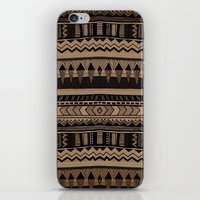 woodland iPhone & iPod Skins featuring  WOODLAND by Vasare Nar