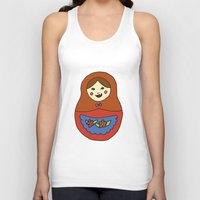 1 Matroyshka Doll Unisex Tank Top