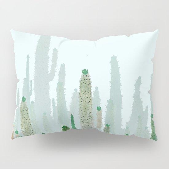 horizont cactus Pillow Sham