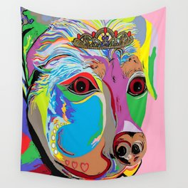 Lady Rottweiler Wall Tapestry