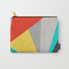 Aggressive Color Block Carry-All Pouch