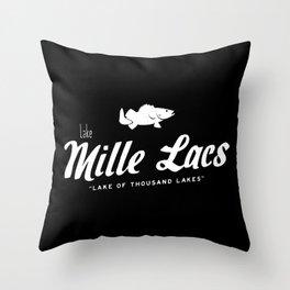 LAKE MILLE LACS Throw Pillow
