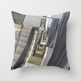 Well of Stairs Throw Pillow