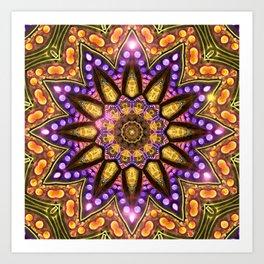 Bohemian Sun Art Print