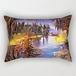 Twin Lakes, California Rectangular Pillow