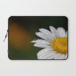 Raindrops and Daisy Laptop Sleeve