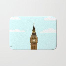 Big Ben Blue Skies Bath Mat
