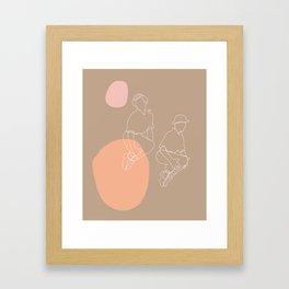 Jumping Jacks ll Framed Art Print