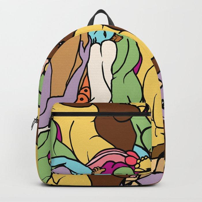 Human Slugs Backpack