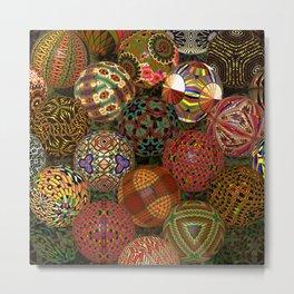 Balls 2, 3150v Metal Print