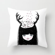 Bambi & moi Throw Pillow