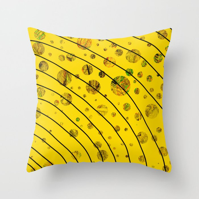 Color Series 007 Throw Pillow