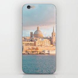 Valletta Sunset iPhone Skin