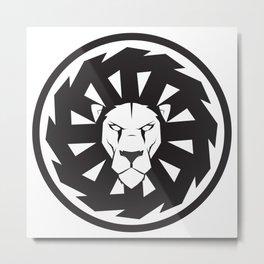 Lion symbol Metal Print