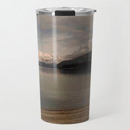 lake wanaka silent capture at sunset in new zealand Travel Mug