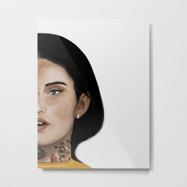 Rebel Girl I Metal Print
