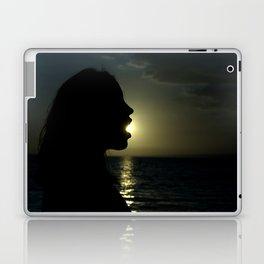 pac girl Laptop & iPad Skin