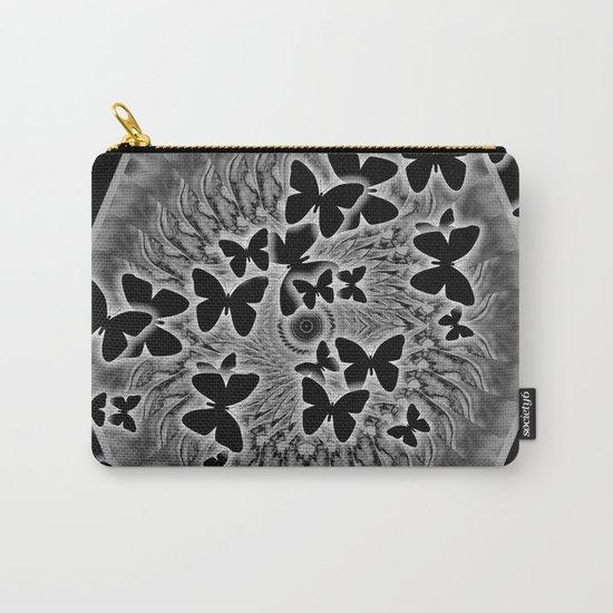 Dark butterfly kaleidoscope Carry-All Pouch