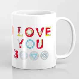 I Love You 3000 v3 Coffee Mug