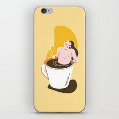 Coffee Bath iPhone & iPod Skin
