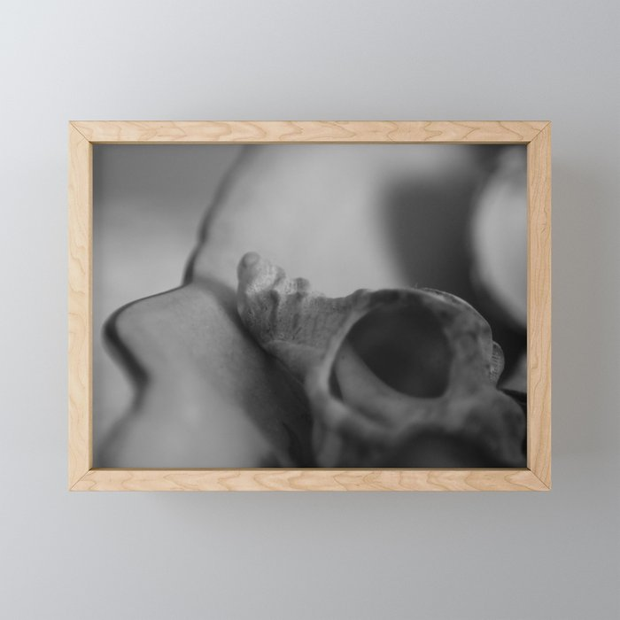 Expressionless the trance through echoing Framed Mini Art Print
