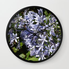 Love Flowers Wall Clock