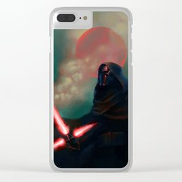 Kylo Ren Clear iPhone Case