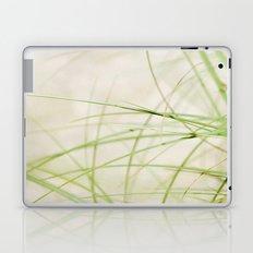 Green Wisps Laptop & iPad Skin