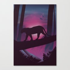 So Peaceful I Can Hear My Blood Canvas Print