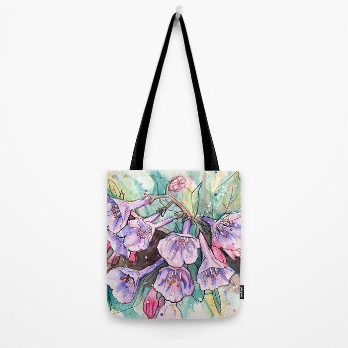 virginia bluebells Tote Bag
