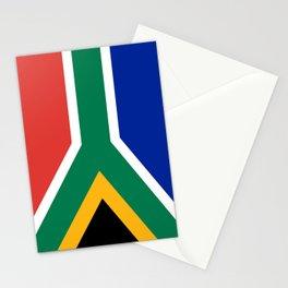 Flag of South Africa, Authentic color & scale Stationery Cards