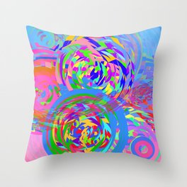 Collider Throw Pillow