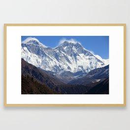 Himalaya Gerahmter Kunstdruck