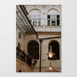 Hidden Streets of Prague Canvas Print