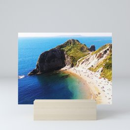 West Lulworth cove 2 Mini Art Print