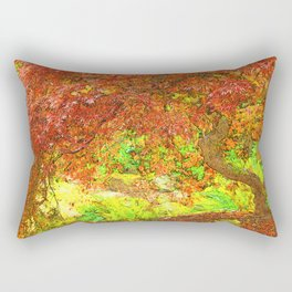 Canopy of Red Rectangular Pillow