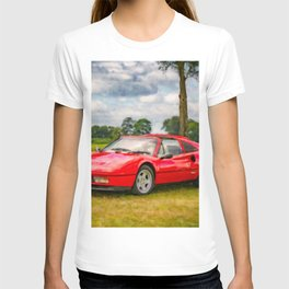 Red Sports Car 1987 T-shirt