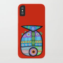 Fish which ate ship iPhone Case