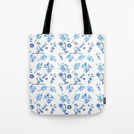 Ceramic Portuguese -Pattern Tote Bag