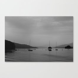 Moody Lake Windermere / Lake District  Canvas Print