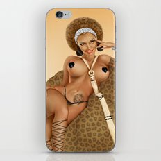African Pin-up iPhone & iPod Skin